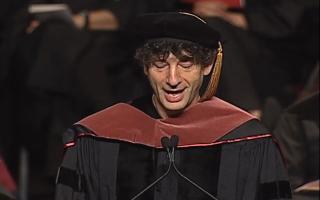 Neil Geimans Rede bei der Abschlußfeier der University of the Arts