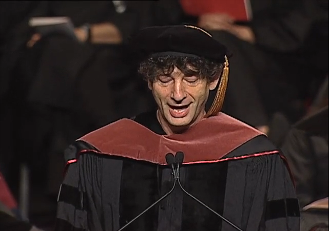 Neil Gaiman's Commencement Speech