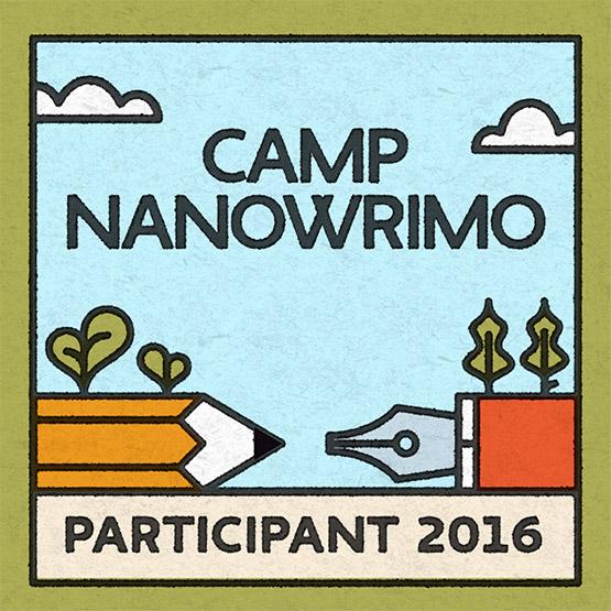 Participant 2016 Camp NaNoWriMo