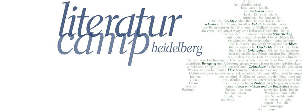Literaturcamp Heidelberg 2018 – Tag 2
